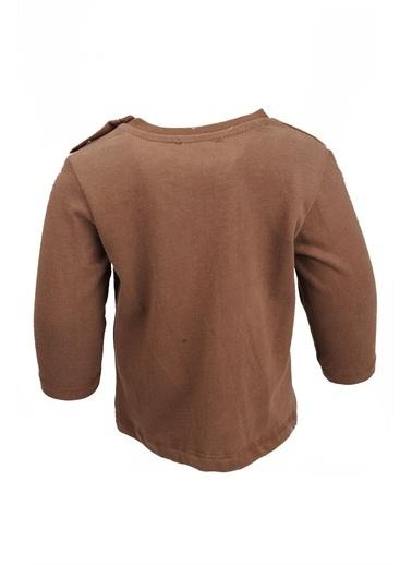 Zeyland Yaka Çıtçıtlı Baskılı Uzun Kollu T-Shirt (9ay-4yaş) Yaka Çıtçıtlı Baskılı Uzun Kollu T-Shirt (9ay-4yaş) Kahve
